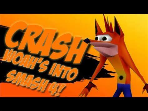 crash bandicoot confirmed  super smash bros youtube