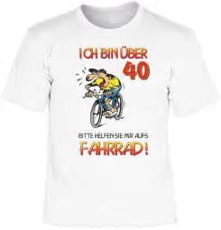 40 geburtstag sprüche frau t shirt 40 geburtstag ich bin über 40 bitte aufs fahrrad helfen geschenk funwarestore