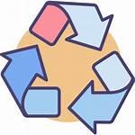 Recycle Icon Process Environment Reprocess Garbage Trashbin