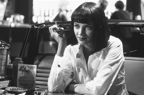 Uma Thurman Pulp Fiction Quotes Uncomfortable Silence