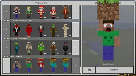 skins   minecraft pe ios android