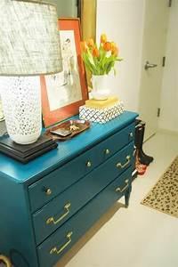 Commode Bleu Canard : comment repeindre un meuble une nouvelle apparence ~ Teatrodelosmanantiales.com Idées de Décoration