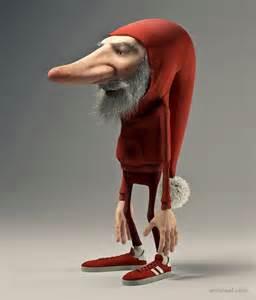 3D Funny Cartoon Character