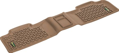 Quadratec All Weather Floor Mats by Quadratec 174 Ultimate All Weather Rear Floor Liner For 11 16