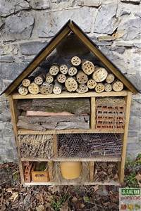 Fabriquer Un Hotel A Insecte : comment construire un hotel a insecte ecole sante ~ Melissatoandfro.com Idées de Décoration