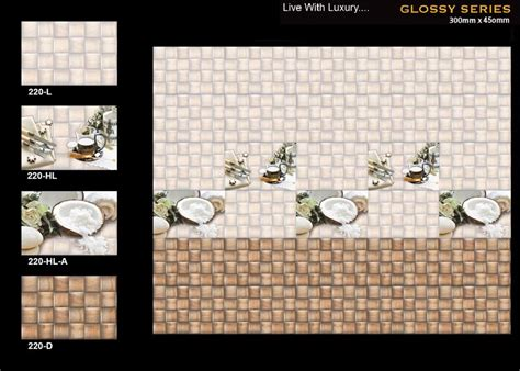 buy digital ceramic wall tiles for kitchen 220 from satyam