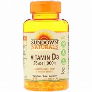 Vitamin D3 Berechnen : sundown naturals vitamin d3 25 mcg 1 000 iu 400 softgels ~ Themetempest.com Abrechnung