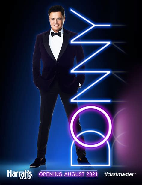 Donny Osmond Returns To The Las Vegas Stage With First ...