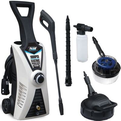 buydig pulsar pwe1800k electric pressure washer w accessory bundle 1800 psi open box