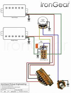 Wiring Diagram 3 Humbucker Les Paul - Database