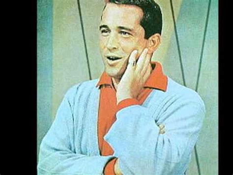 perry como frosty the snowman perry como in my little red book youtube
