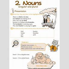 Grammar » Grade 3 Grammar Lesson 2 Nouns  Singular And Plural