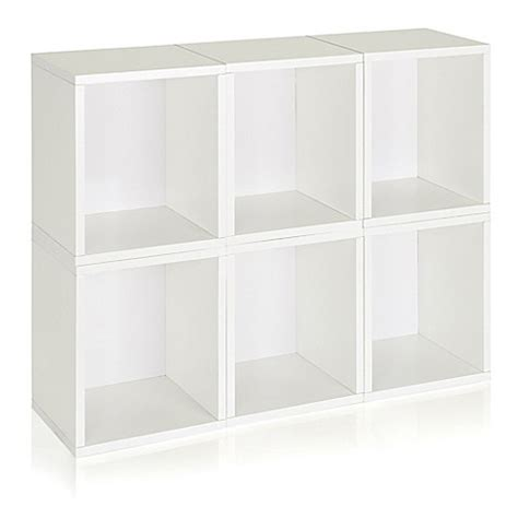 Stackable Bookcase Cubes by Way Basics Tool Free Assembly Stackable Storage Cubes