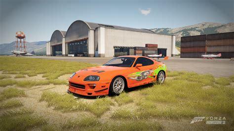 Toyota Supra Fast & Furious Edition Fond D'écran Hd