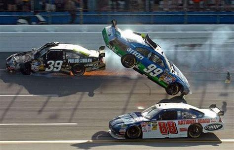 Race Car Wreck by Car Racing