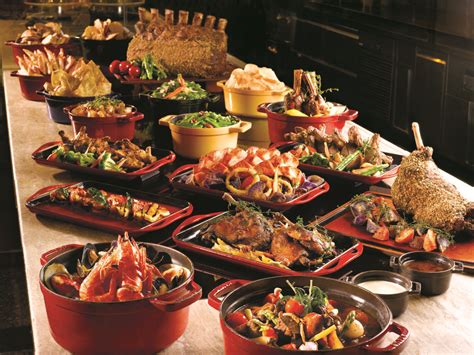 buffets cuisine trick or treat at the mandarin singapore the