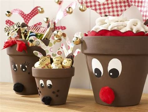 decorazioni vasi vasi di terracotta decorati per natale 20 idee tutorial
