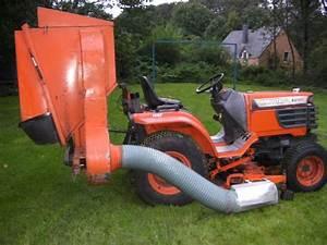 Bac De Ramassage Tracteur Tondeuse : troc echange tracteur tondeuse kubota b2100 sur france ~ Nature-et-papiers.com Idées de Décoration