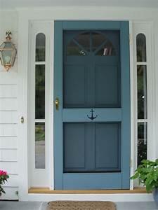 Exterior, Door, With, Screen, Insert
