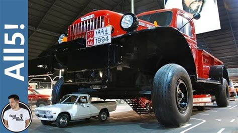 Largest Car In The World by 5 Largest Vehicles In The World