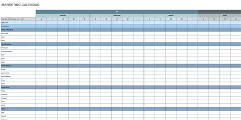 google calendar template free calendar templates smartsheet