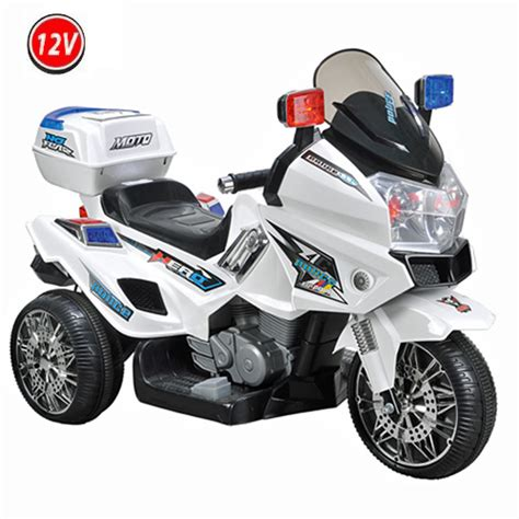 motorrad für kinder ab 12 jahre 12v polizei elektro motorrad kindermotorrad roller kinderfahrzeug dreirad gross ebay