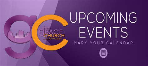 Upcoming Events - Grace Church Raleigh