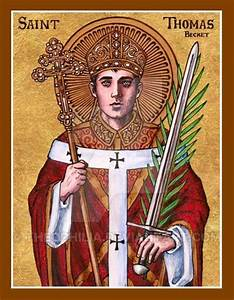 St. Thomas Becket icon by Theophilia.deviantart.com on ...