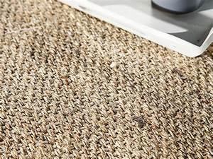 tapis sisal avec ganse en coton bayview chocolat 200x290cm With tapis sisal gansé