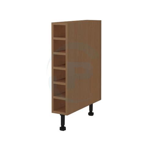 kitchen wine cabinet shelf unit open wine rack kitchen base unit utopia beech from 8735