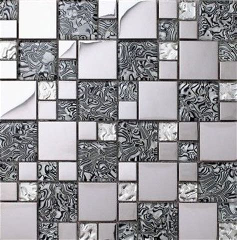 tiles for kitchen backsplash glass mosaic kitchen backsplash tile stainless steel