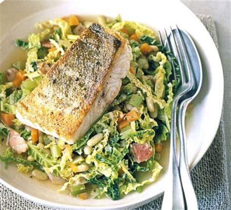 pot cabbage beans  white fish recipe bbc good food