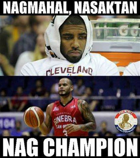 Pba Memes - ginebra s chionship run has naturally spawned the most creative of memes spin ph