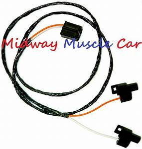 Front Floor Console Wiring Harness W  Manual Trans 64 65 66
