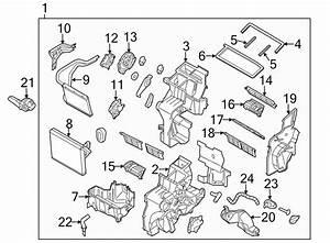 2016 Kia Case  Heater  Evaporator  W  O Auto Temp Cntrl  W