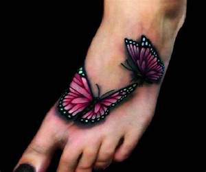 65 3D butterfly tattoos - nenuno creative