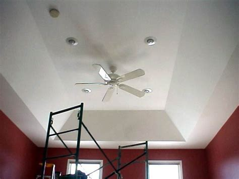 tray ceiling  fan  recessed lighting tray ceiling