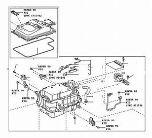 Toyota Highlander Fuse Box Cover  Cover  Inverter