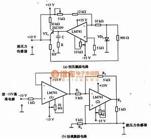 Pressure Sensor Excitation Circuitry Diagram