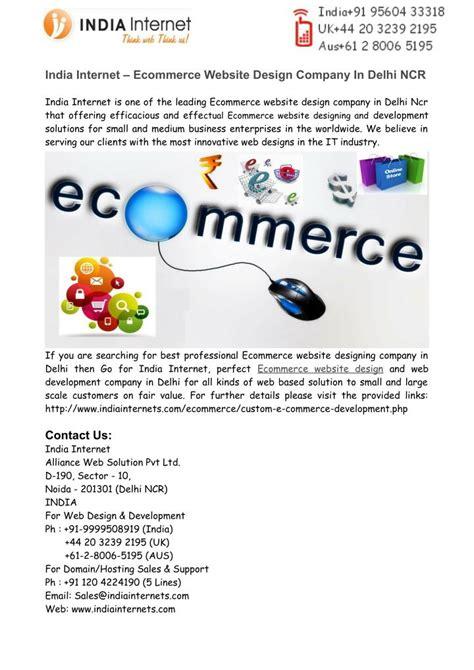 ecommerce website design company ppt ecommerce website design company in delhi ncr