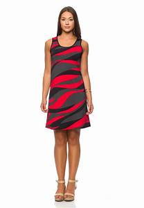 funky short sundress red and black boutique isla mona canada With robe noir et rouge