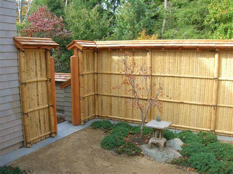 Bamboo Garden Fence Design fence bamboo fence decosee