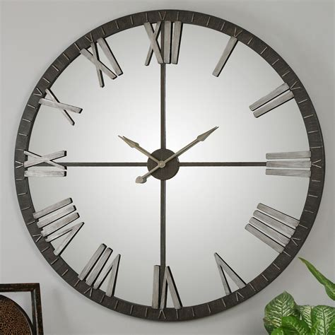 uttermost amelie 60 in large wall clock wall clocks at