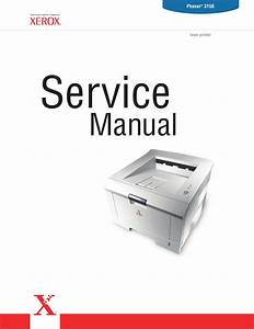 Xerox Phaser 3150 Parts List And Service Manual