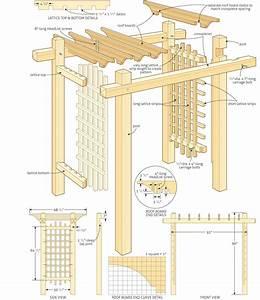 Build a garden gateway pergola http://canadianhomeworkshop