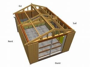 Garage Ossature Bois : charpente bois garage renapec ~ Melissatoandfro.com Idées de Décoration