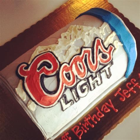 how to make coors light taste coors light beer cake ideas 105021 beer parties cake ideas