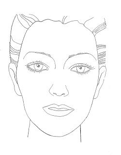face drawing templates  getdrawings