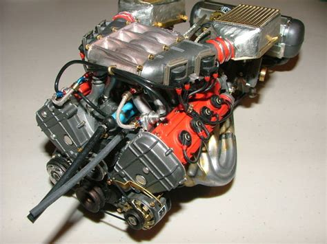 F40 Engine by F40 Engine Detail 1 8th Scale