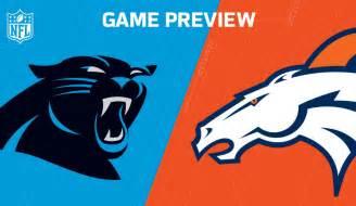 NFL Denver Broncos Carolina Panthers